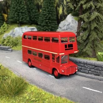 Bus à étage, AEC Routemaster, 1960-HO 1/87-BREKINA 61109