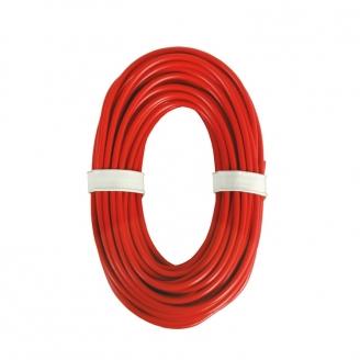 Câble courant fort 0,75 mm², rouge, 10 m-Toutes échelles-VIESSMANN 6895