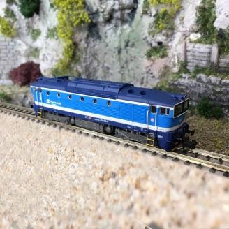 Locomotive série 754 CD Ep VI digital son-N  1/160- MINITRIX 16738