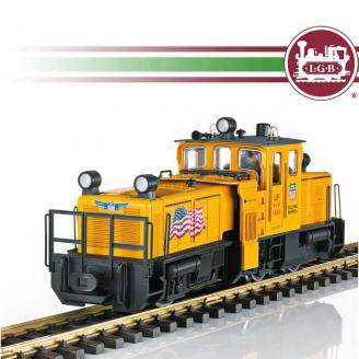 Locomotive Américaine nettoyage des rails digital son-G 1/22.5-LGB 21672