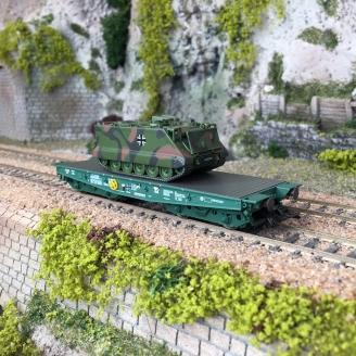Wagon charges lourdes Rlmmps + M113 DB Ep VI -HO 1/87-MARKLIN 48874