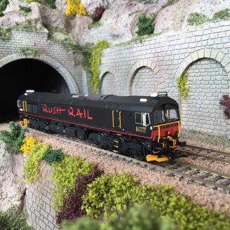 Locomotive série 66 JT42CWR T66406 Rush Rail Ep VI digital son-HO 1/87-TRIX 22997