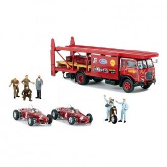 Coffret Ferrari / Fiat 642-HO 1/87-Starline Models 58475