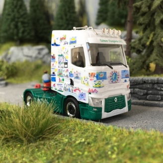 Camion Renault TZgm TALMON TRANSPORTE-HO 1/87-HERPA 111065