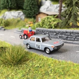 BMW 1800 TII Monte Carlo '67 Grise -HO 1/87-BREKINA 24432