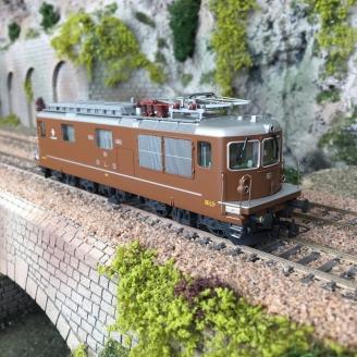 Locomotive BLS Re 4/4 161 Ep IV-V digital son-HO 1/87-RIVAROSSI HR2812S