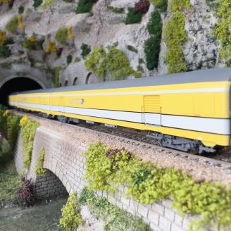"""3 Wagons """"La Poste"""" Ep V SNCF-HO 1/87-LSMODELS 40425"""