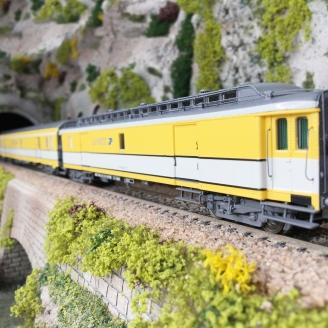 """3 Wagons """"La Poste"""" Ep IV SNCF-HO 1/87-LSMODELS 40423"""