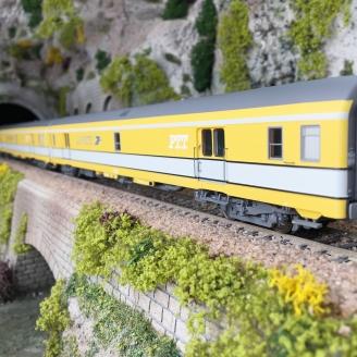 """3 Wagons """"La Poste"""" Ep IV SNCF-HO 1/87-LSMODELS 40424"""
