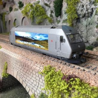 Locomotive EL 18 2247, NSB Ep VI -HO 1/87-ROCO 70658