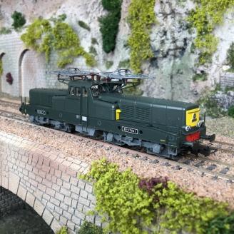 Locomotive BB 13041 livrée vert/jaune SNCF Ep IV digital son -HO 1/87-JOUEF HJ2337S