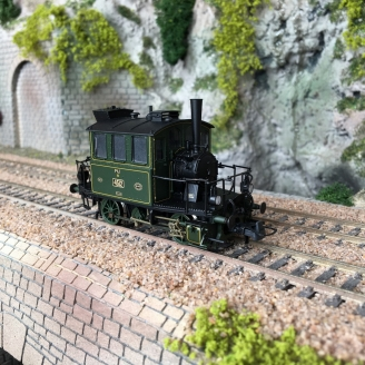 Locomotive PtL 2/2, K.Bay.Sts.B. Ep I digital son - HO 1/87 - ROCO 72059