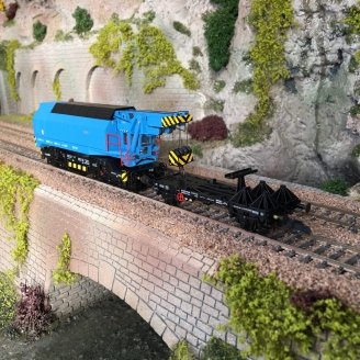 Grue ferroviaire mobile CSD, Ep IV fonctionnelle digital son-HO 1/87-ROCO 73038