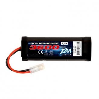 Batterie Ni-MH powerhouse 3600 mAh, 7.2V - T2M T1006360