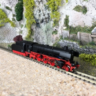 Locomotive série 01.10, DB Ep III - N 1/160 - FLEISCHMANN 716905
