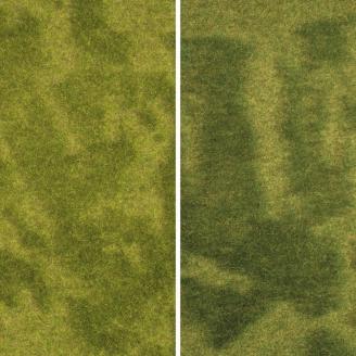 "2 Tapis d'Herbe Prairie Humide 25 x 25 cm ""NATUR +""-HO-1/87-NOCH 07471"