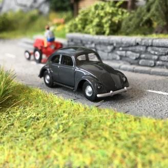 Volkswagen Coccinelle Split Anthracite-HO 1/87-BUSCH 89131