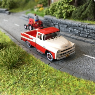 Pick-Up Dodge D100 Sweptside 1957-HO-1/87-OXFORD 87DP57001