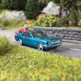 Ford Mustang 1964 Coupé V8-HO 1/87-BUSCH 47562