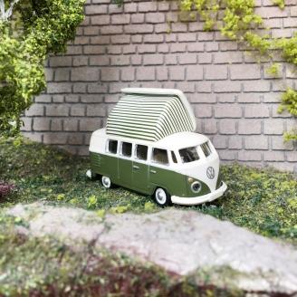 VW T1 Combi Split window Camper / Westfalia-HO 1/87-SCHUCO 452660400