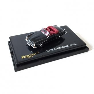 Mercedes 190 SL Noire -HO 1/87-RICKO 38193