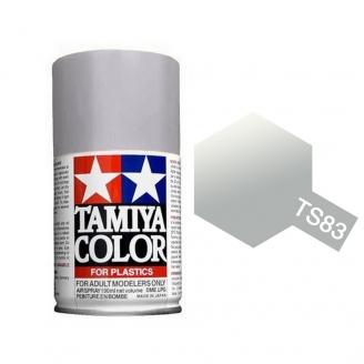 Argent Métallisé Spray de 100ml-TAMIYA TS83