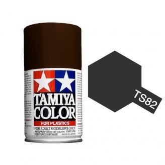 Noir Caoutchouc / Gomme / Pneu Spray de 100ml-TAMIYA TS82