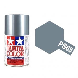 Gris Clair (Gun Métal) Polycarbonate Spray de 100ml-TAMIYA PS63