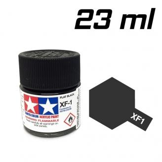 Noir mat pot de 23 ml-TAMIYA XF1