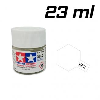 Blanc mat pot de 23 ml-TAMIYA XF2