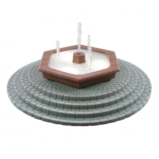 Grande fontaine d'ornement réaliste motorisée-HO-1/87-VIESSMANN 5016