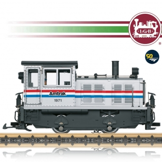 "Locomotive diesel AMTRAK ""1971"" Ep IV digital son-G 1/22.5-LGB 27632"