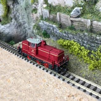 Locomotive diesel série 260, DB Ep IV - N 1/160 - FLEISCHMANN 722401