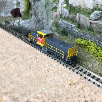 Locomotive diesel Railion DB Logistics MAK 6434 Ep VI - N 1/160 - MINITRIX 16062