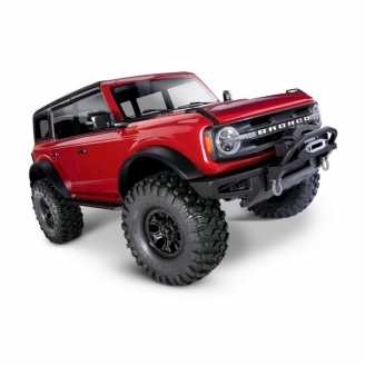 Ford Bronco 2021 TRX-4 Rouge-1/10-TRAXXAS 92076-4RED