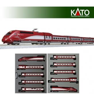 TGV Thalys PBKA 10 éléments Ep VI-N-1/160-KATO 101658