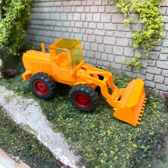 Tracteur chargeur -H0 1/87- WIKING DEP310-094