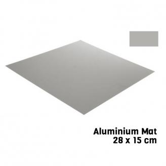 Feuille Aluminium Mat 28 X 15 cm Bare Metal - BMF BM011