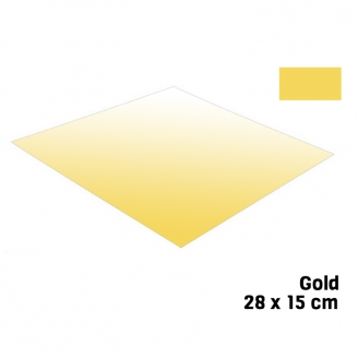 Feuille Or 28 X 15 cm Bare Metal - BMF BM008