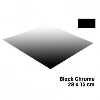 Feuille Black Chrome 28 X 15 cm Bare Metal - BMF BM007