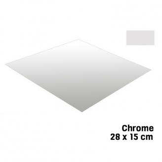 Feuille Chrome 28 X 15 cm Bare Metal - BMF BM001