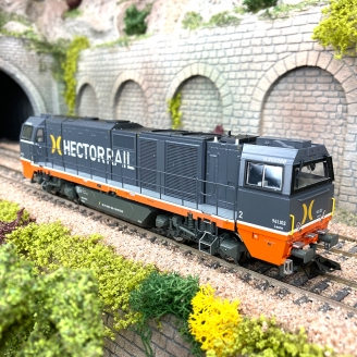 Locomotive G2000 BB hector Rail Ep VI digital son-HO 1/87-TRIX 25296