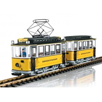 Tramway 2 éléments  Kirnitzschtalbahn sonore -G 1/22.5-LGB 23363