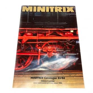 Catalogue principal 1983/84 83 pages en Français - MINITRIX  DEP255-088