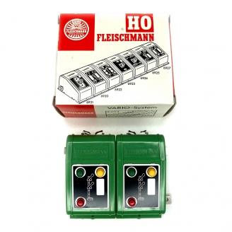 2 boitiers de commande signaux double palettes - FLEISCHMANN 6928 DEP255-050