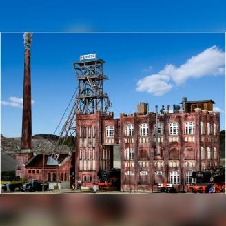 Usine de charbon-HO-1/87-KIBRI 39846