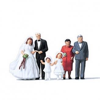 6 personnages mariage - N 1/160 - MERTEN 272535
