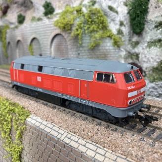 Locomotive BR216 DB Ep V digital Mfx 3R-HO 1/87-MARKLIN 36218
