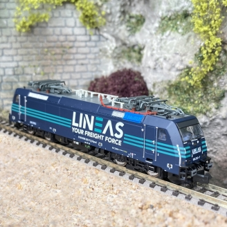 "Locomotive série 186 293-7, ""Lineas"" Ep VI-N-1/160-ARNOLD HN2498"