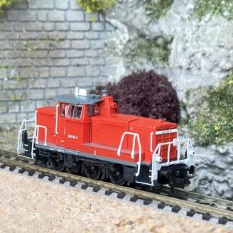 Locomotive diesel série 363, DB Ep V-VI - N 1/160 - FLEISCHMANN 722402